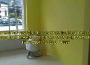 Maestro pintor pintamos departamentos casas oficinas