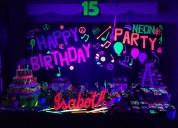 Alquiler de luces y efectos para fiestas