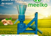 Meelko peletizadora alfalfa y postura mkfd150p