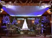 Decoración para bodas en guayaquil by macroevento