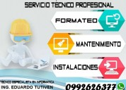 servicio tecnico autorizado laptops dell / hp / ac