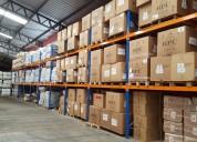 Sistemas de almacenaje para bodegas racks perchas