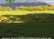 Finca de 12 hectareas en machachi