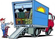 Transporte pesado para mercadería en general 09834