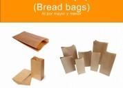 Fundas de papel -lunch bags desde 0.04 ctvs.