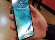 Teléfono iphone x silver 64 go a buen precio