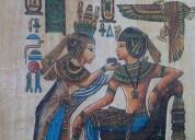 Lote de 10 papiros de egipto maravilla del egipto