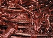 Compra venta de cobre, cables, baterias, motores..