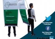 Publicidad móvil quito - hombres valla