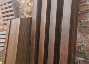 Tablones y cuartones madera verde ecuador
