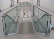 Pasamanos de aceros / vidrios templados