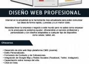 Diseño y desarrollo de sitios web / tiendas onlin