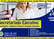 Curso: secretariado ejecutivo profesional