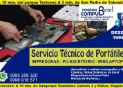Reparación de computadoras, portátiles, mini-lapto