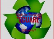 Compra de material reciclable, chatarra y remates
