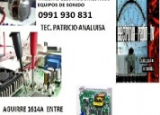 Electronia reparacion radio tv equipo se sonido ta