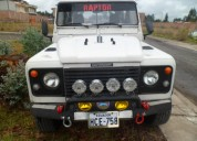 Land rover aÑo 2002 4x4 alzada la suspencion full