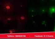 Proyección láser para todo tipo de eventos quito
