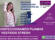 Fabricación y venta al por mayor de pijamas