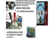 Electronica reparacion radio tv equipo de sonido t