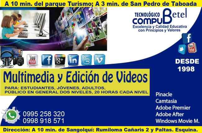 Curso de Multimedia y Edición de videos