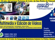 Curso de multimedia y edición de videos
