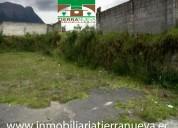 En venta lote de terreno de 1.300m2 en natabuela