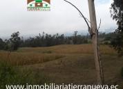 Vendo terreno 6000m2  en cotacachi