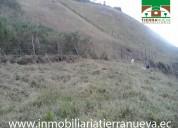 Vendo un terreno en la comunidad imbabuela de otav