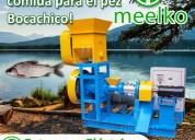 Extrusora para pellets flotantes de peces mked040c