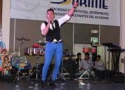 Cantante profesional musica en vivo show eventos