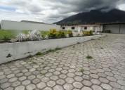 Vendo en otavalo 1000 m2 de terreno en panamerican