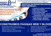 Servicios de contrucción de páginas web-empresas