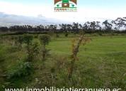 Se vende  lote de terreno de 5.000m2 en el sector