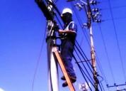 Técnicos motorizados para redes