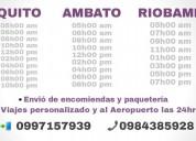 Taxi ejecutivos ambato riobamba baños