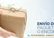 Encomiendas riobamba - quito