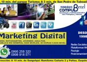 Cursos de capacitación en marketing digital y social media
