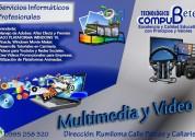 Curso personalizado:multimedia y edición de vídeos
