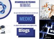 Servicio de diseÑo de paginas web informativas