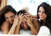 Mi novia quiere hacer un trio con otra chica
