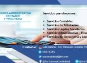 Servicios contables y empresariales