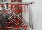 Escaleras industriales tipo avion