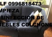 Telf 0981941777 lavamos colchones muebles
