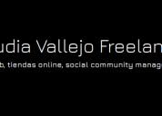 Creo sitios web y manejo de redes sociales