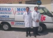 Asistencia medica al viajero  medicomovil quito ec