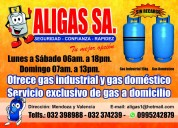 Servicio de gas a domicilio