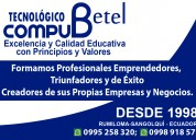 Curso profesional de marketing digital, sangolquí