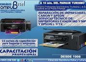 Reparación de impresoras canon y epson en sangolquí