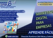 Curso profesional marketing digital y social media